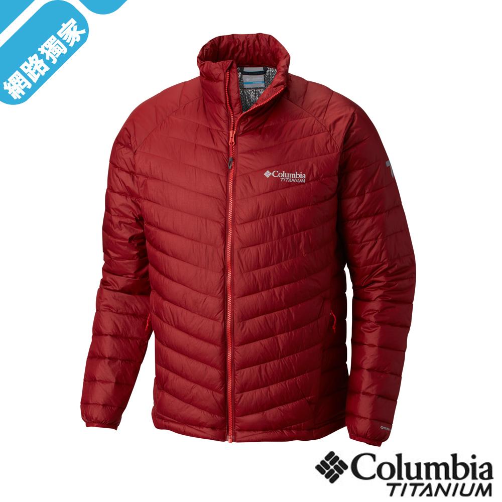 Columbia 哥倫比亞 男款-Omni-HEAT3D保暖外套-紅UWE08740