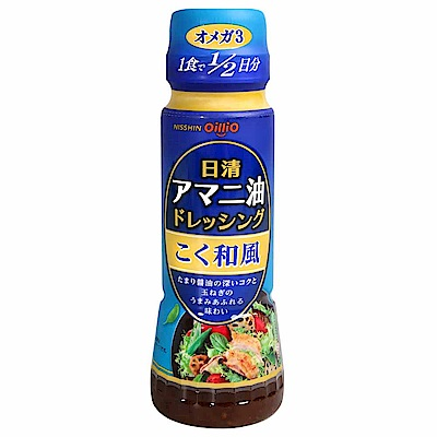 日清製油 亞麻仁油香醇和風醬(160g)