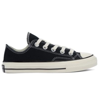 CONVERSE CHUCK 70 OX 低筒休閒鞋 中大童 黑-368986C