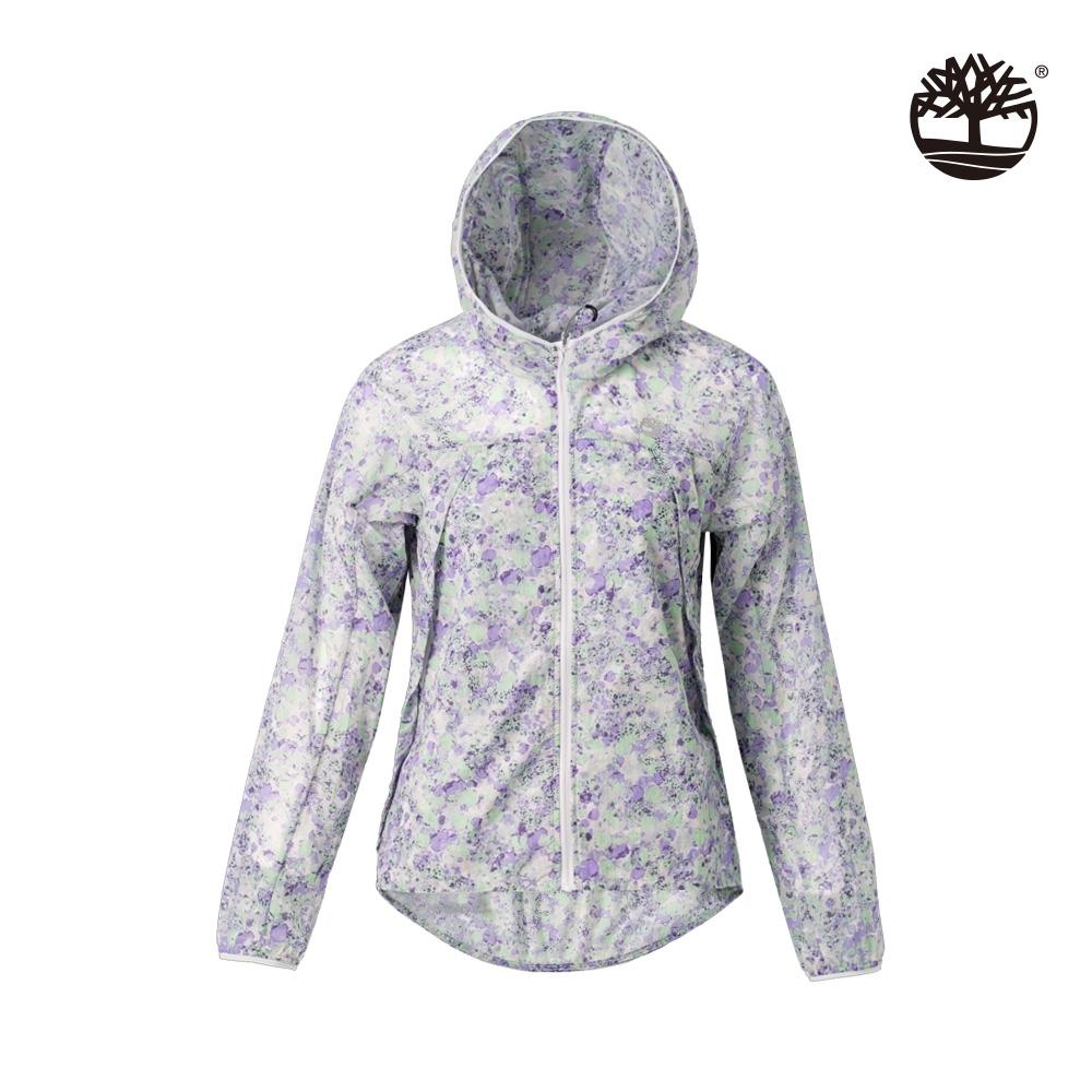 Timberland 女款羅藍紫輕質尼龍外套|B4101