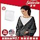 美國Sunbeam柔毛披蓋式電熱毯(氣質灰) product thumbnail 1