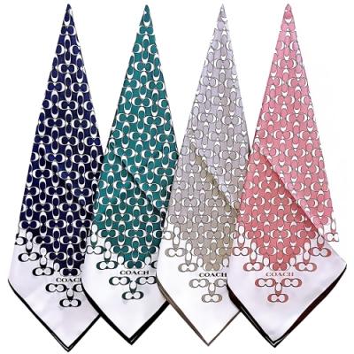 【時時樂限定】COACH 時尚品味絲巾/大方巾-多款多色