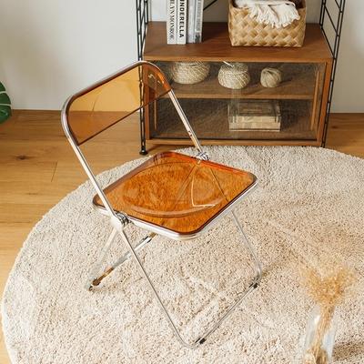 完美主義 果凍色韓系折疊椅/餐椅/會議椅/休閒椅/書桌椅/化妝椅(3色)