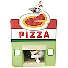 寵喵樂《美食街 造型貓抓板》披薩屋