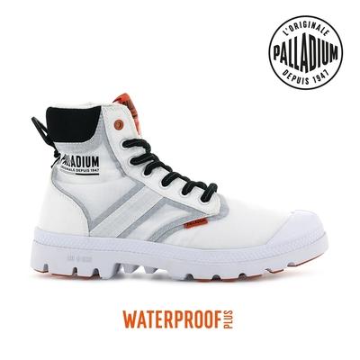 PALLADIUM PAMPA LITE+ SC VAPOR WP+輕量拉鍊防水靴-中性-白