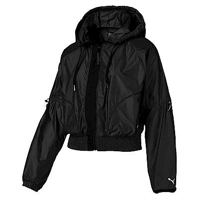 PUMA-女性訓練系列Trailblazer風衣外套-黑色-亞規