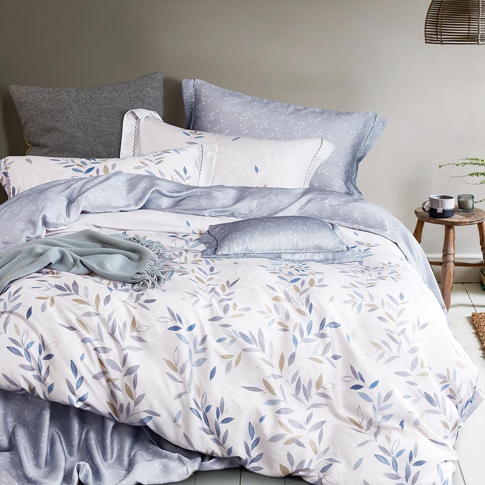 Ania Casa 淺笑 天絲 100% TENCEL 加大鋪棉兩用被套床包四件組