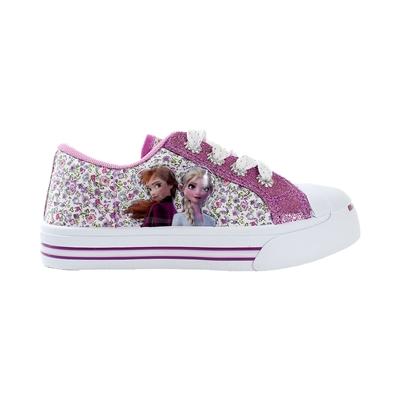 魔法Baby 女童鞋 台灣製冰雪奇緣授權正版俏麗帆布鞋  sa14707