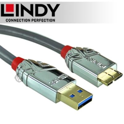 LINDY CROMO USB3.0 A/公to Micro-B 0.5m (36656)