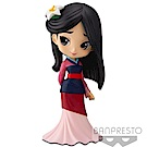 Banpresto 迪士尼Q Posket 花木蘭公主一般色14cmBD35726