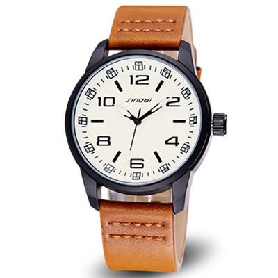 watch-123 簡約休閒經典復古皮革手錶 (5色任選)