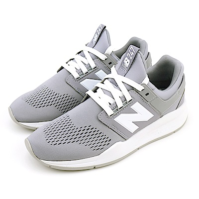 New-Balance女休閒鞋 WS247UE-B 灰