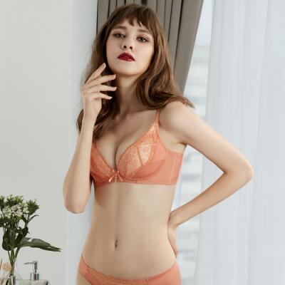 瑪登瑪朵 無鋼圈內衣 B-F罩杯(珊瑚橘)