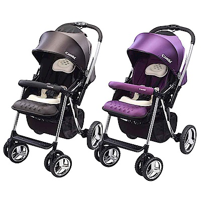 【Combi 康貝】Mega Ride DX 嬰兒手推車-共兩色(無腳套)