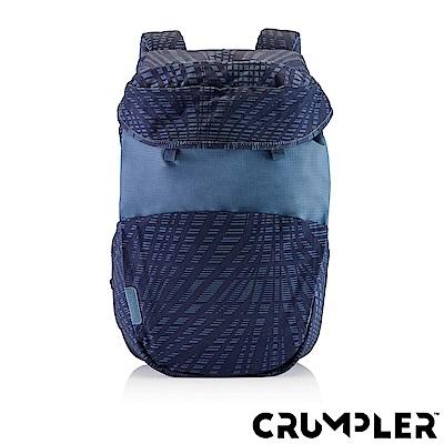 Crumpler 小野人 LIFE HACK 嘻哈後背包 格紋藍
