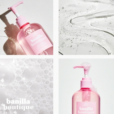 [買一送一]【Ma:nyo魔女工廠】HUG印記香氛洗髮精 500ml+沐浴乳 500ml