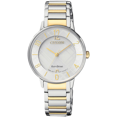 CITIZEN 蕾蒂絲的收藏箱時尚女錶(EM0524-83A)