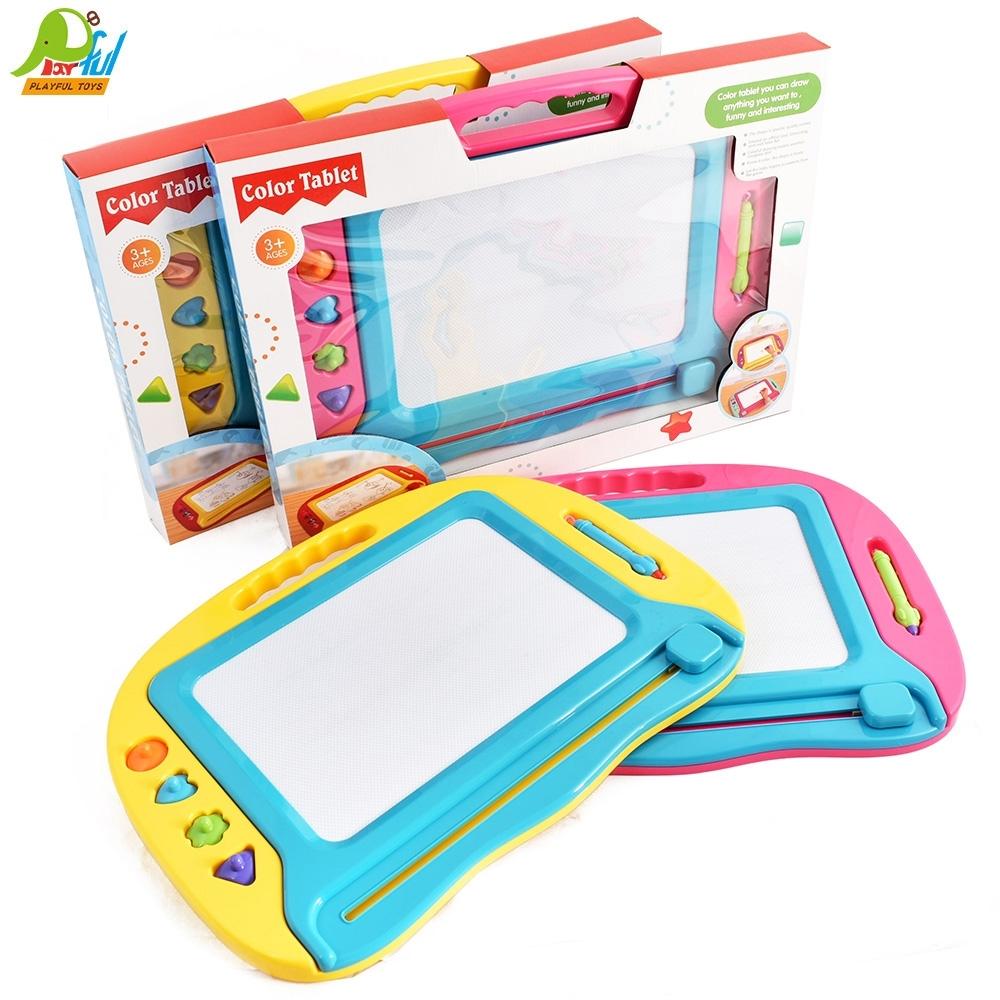 Playful Toys 頑玩具 彩色磁性大畫板(多款隨機出貨)