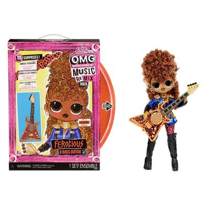 LOL 驚喜寶貝蛋 - OMG搖滾少女 Ferocious and Bass Guitar