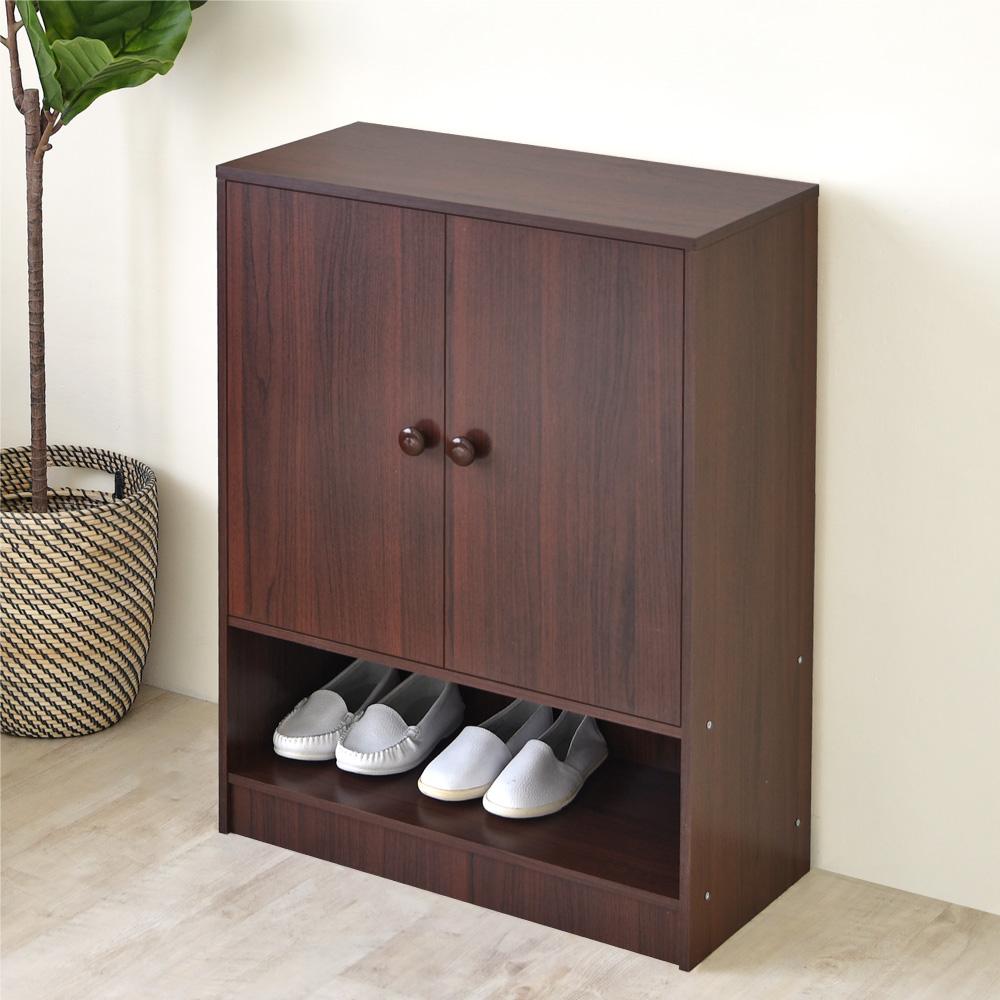 《HOPMA》DIY巧收雙門四層鞋櫃/收納櫃-寬60 x深30 x高80cm