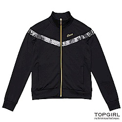 【TOP GIRL】銀河系女孩POLY針織外套-神祕黑