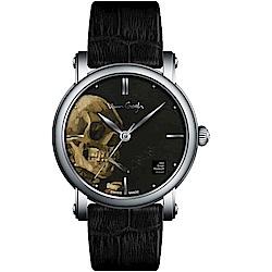 梵谷Van Gogh Swiss Watch梵谷經典名畫女錶(OPSM-L)-骷髏頭