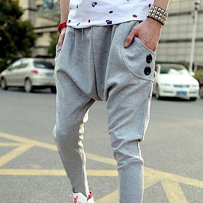BuyGlasses 老爺褲 縮口褲 飛鼠褲 低檔褲 棉褲