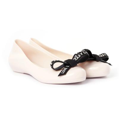 ZAXY POP MAGIC 蝴蝶結娃娃鞋-白
