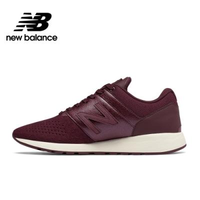 New Balance 運動時尚休閒鞋_女性_酒紅_WRL24TM-D
