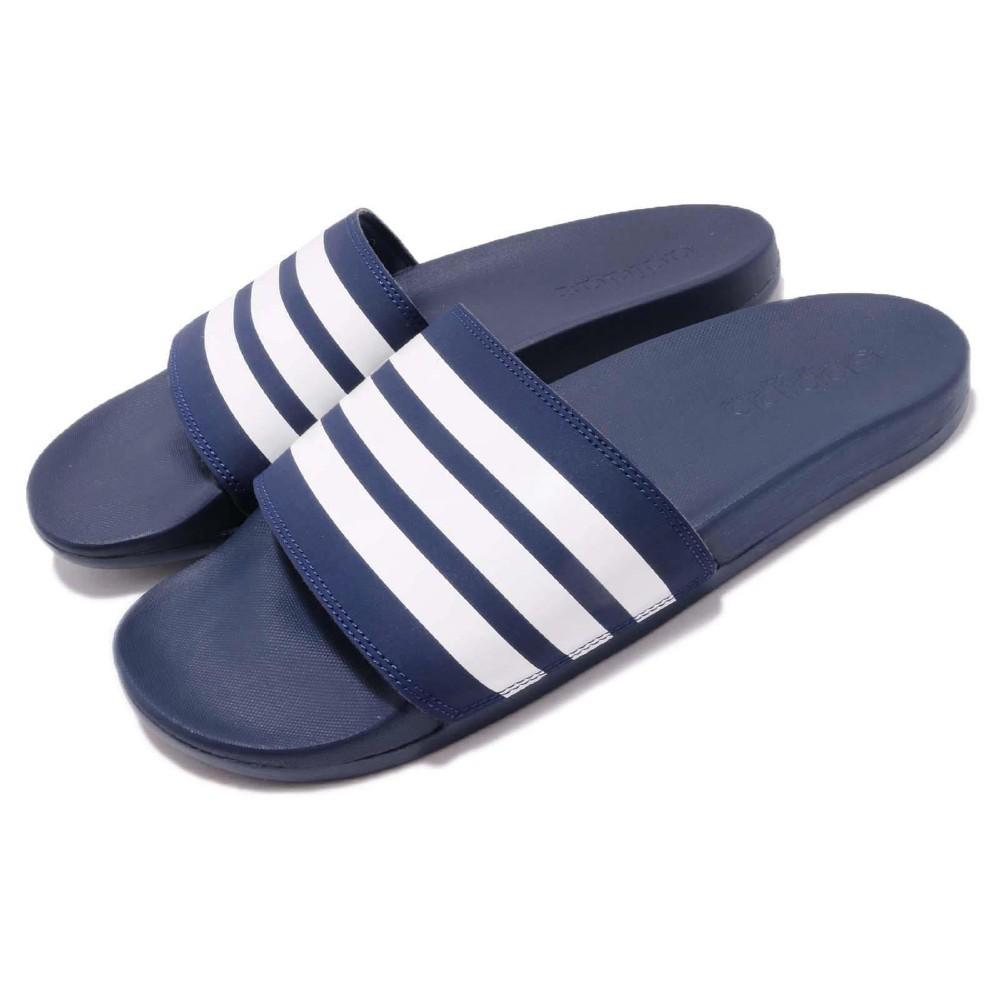 adidas 涼拖鞋 Adilette Cloudfoam 男女鞋 @ Y!購物