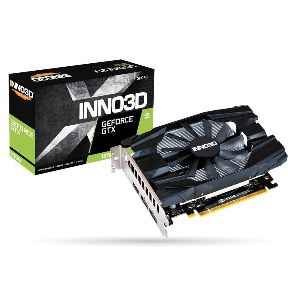 INNO3D映眾 Geforce GTX 1650 4GB GDDR6 Compact 顯示卡