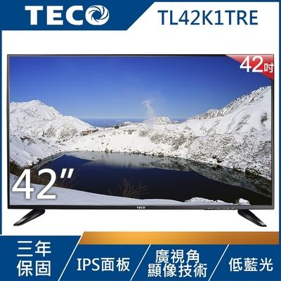 TECO東元 42吋 FHD 低藍光液晶顯示器 TL42K1TRE(無附視訊盒)