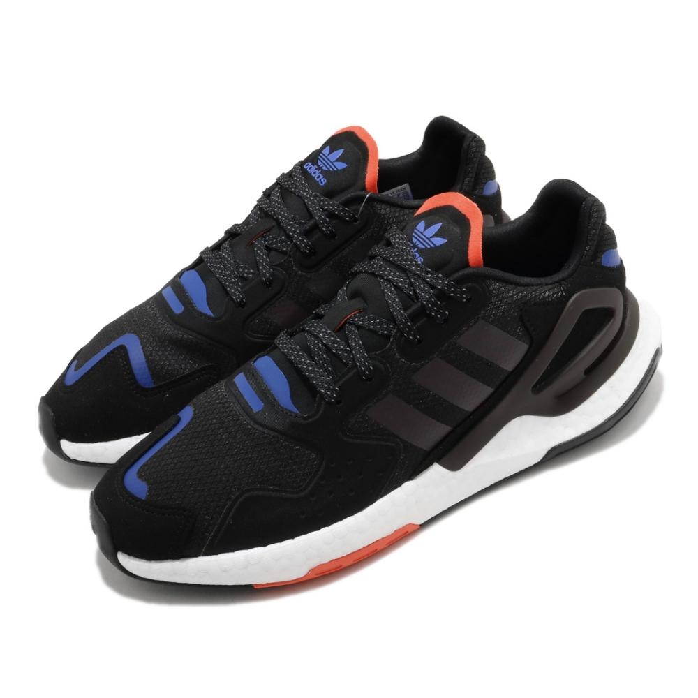 adidas 休閒鞋 Day Jogger 流行 男鞋 愛迪達 三葉草 Boost底 緩震 穿搭 黑 藍 FW4818