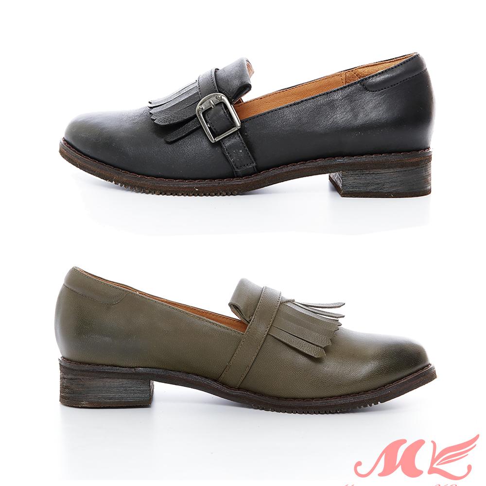 MK 英倫風特殊質感樂福鞋 2色 @ Y!購物
