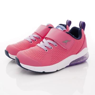 KangaROOS童鞋 ASTRO氣墊跑鞋NI1213粉紅(中大童段)