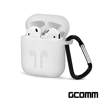 GCOMM Apple AirPods 藍芽耳機增厚保護套 時尚白