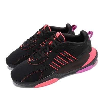 adidas 休閒鞋 Hi-Tail 運動 男鞋 愛迪達 輕量 透氣 舒適 反光 穿搭 黑 粉 H69040