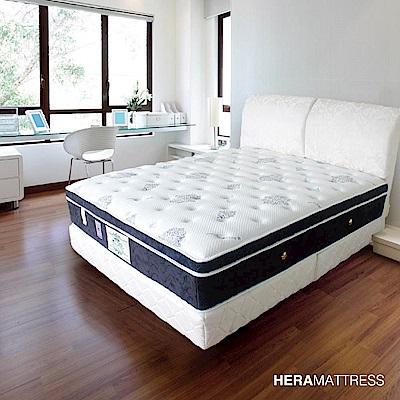 HERA Venus 高彈力矽膠平三線硬床 雙人加大6尺