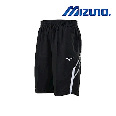 MIZUNO 美津濃 男平織短褲 黑 32TB900409