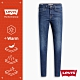 Levis 女款 720 高腰超緊身窄管 超彈力牛仔褲 WARM JEANS 機能保暖內刷毛 中藍刷白 product thumbnail 2