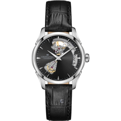 HAMILTON漢米爾頓爵士系列 OPEN HEART LADY機械錶(H32215730)36mm