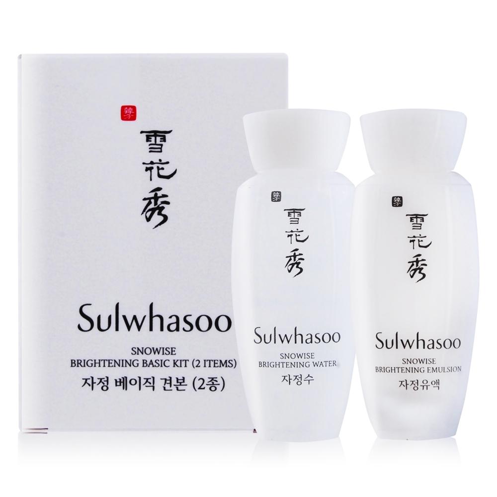 (期效品)Sulwhasoo 雪花秀 滋晶雪瀅保養2件組-期效202002