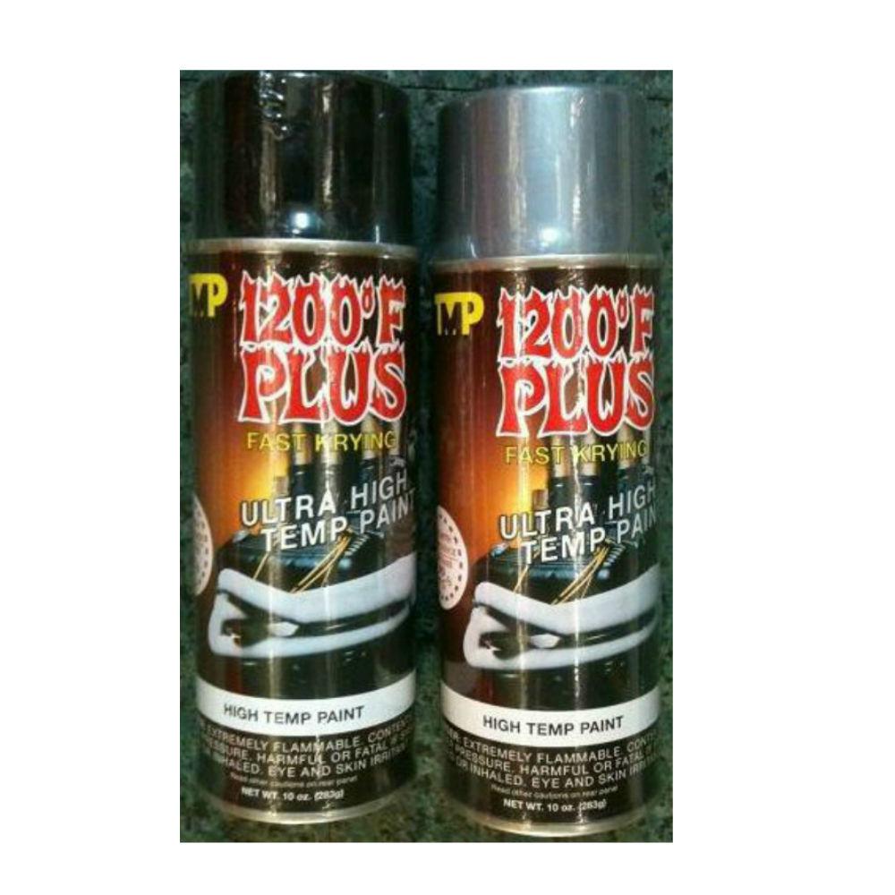 美國進口 TMP 耐熱漆 隔熱漆 耐高溫噴漆-銀