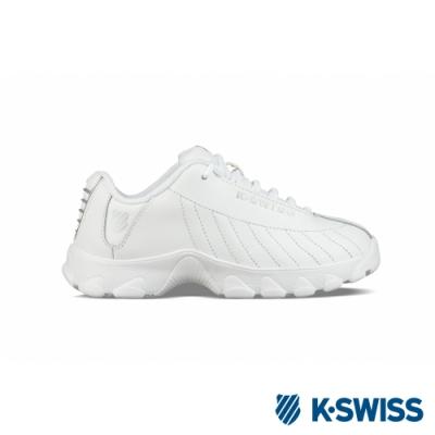 K-SWISS ST329老爹鞋-童-白