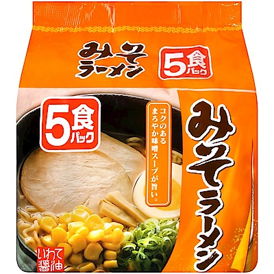 北勢麵粉 北勢5入包麵-味噌風味(415g)