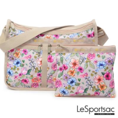LeSportsac - Standard雙口袋A4大書包-附化妝包 (日光花園)