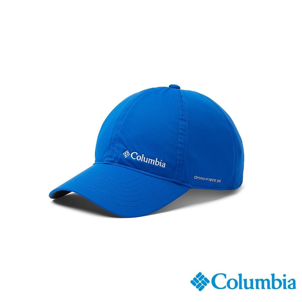 Columbia 哥倫比亞 中性 - UPF50 涼感 快排棒球帽-藍色 UCU01260BL