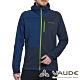 【德國 VAUDE】男款輕量抗風連帽彈性保暖刷毛休閒外套VA-05756深藍 product thumbnail 1