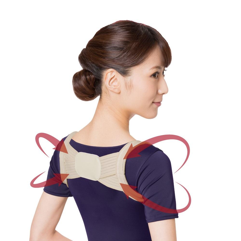 日本 Dr.PRO 美姿帶 挺胸神器 M~L