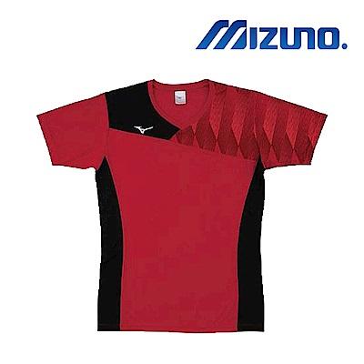 Mizuno 美津濃 男女 排球上衣 紅黑 V2TA8G1762